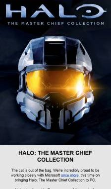 Все части PC-версии сборника Halo The Master Chief Collection выйдут до конца года