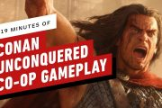 19 минут кооперативного игрового процесса стратегии Conan Unconquered