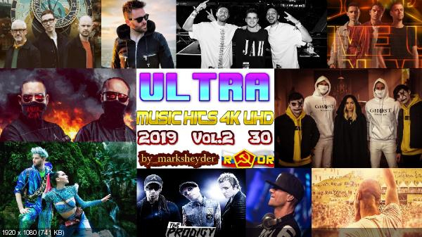 Сборник клипов - ULTRA Music Hits 4K-UHD. Vol. 2. [30 шт.] (2019) WEBRip 2160p