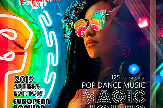 VA - Magic Lights: European Pop Dance Mix (2019) MP3