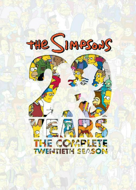 Симпсоны / The Simpsons [S20] (2008-2009) WEBRip-HEVC 1080p | 2x2