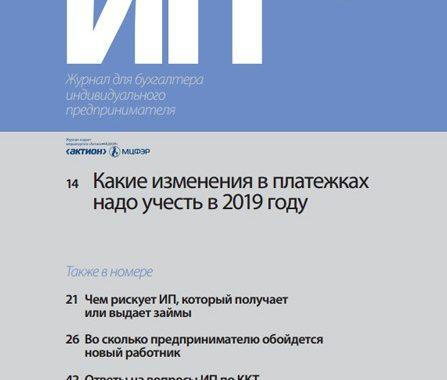Бухгалтерия ИП №2 (февраль) (2019) PDF