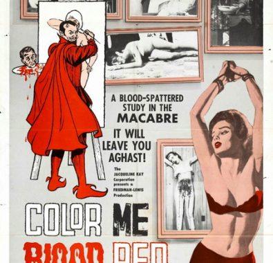 Раскрась меня кроваво-красным / Color Me Blood Red (1965) BDRip-AVC | L1