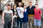 Никита Павленко вернулся в мир футбола