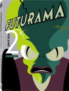 Футурама / Futurama [S02] (1999-2000) WEBRip-HEVC 1080p | 2x2
