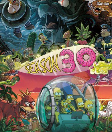 Симпсоны / The Simpsons [30x01-20 из 22] (2018) WEBRip 1080p   VO-production