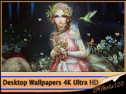 Обои для рабочего стола - Desktop Wallpapers 4K Ultra HD Part 213 [3840x2160] [55шт.] (2019) JPEG