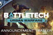 «Городское» дополнение Urban Warfare для пошаговой тактики BattleTech выйдет в начале июня