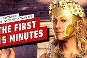 Первые 15 минут дополнения «Судьба Атлантиды» для Assassin's Creed Odyssey