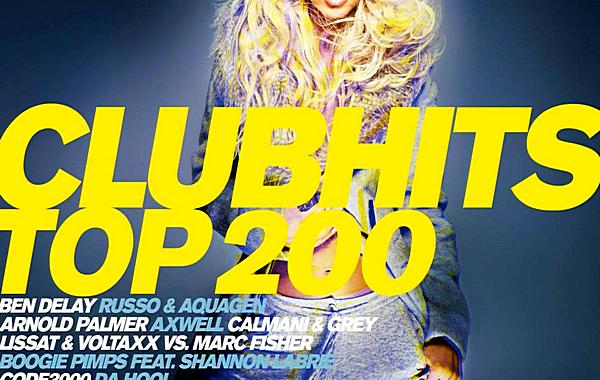 VA - Clubhits Top 200 Vol.13 Mixed by DJ Deep [3CD] (2019) MP3