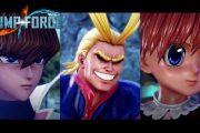 Список бойцов Jump Force пополнился тремя новыми героями