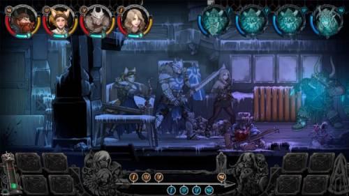 Трейлер к ПК-релизу партийной RPG Vambrace: Cold Soul в духе Darkest Dungeon