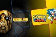 В июне подписчики PS Plus получат Borderlands: The Handsome Collection и Sonic Mania