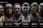 Новый трейлер Mortal Kombat 11 показывает Джокера, Терминатора и Спауна