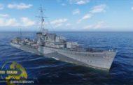 В World of Warships вышло обновление со всеми девятью эсминцами европейской ветки