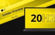 Microsoft выпустила предрелизную сборку Windows 10 20H2