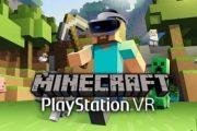 Как Minecraft выглядит на PlayStation VR — трейлер геймплея
