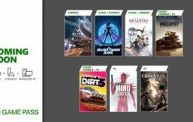 Февральское пополнение Xbox Game Pass: Code Vein, DiRT 5, Pillars of Eternity II: Deadfire и другие