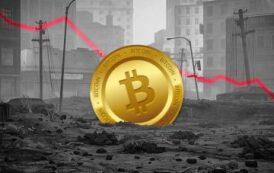 Криптовалютный рынок сократился на $100 млрд — биткоин упал на 10 %