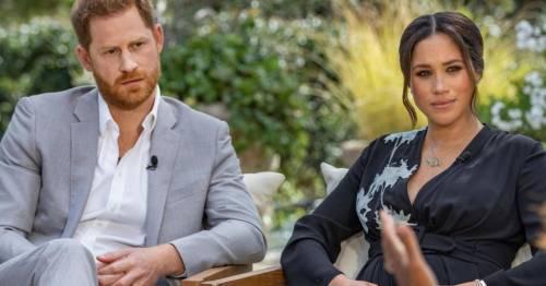 Меган Маркл и принц Гарри дали эксклюзивное интервью Опре Уинфри