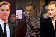Бенедикт Камбербэтч и Джуд Лоу подписали письмо с требованием допустить врача к Алексею Навальному