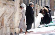 Леди Гага готовится к свадьбе на новых фото со съёмок байопика «Дом Гуччи»