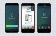 В бете Android-версии Telegram появилась демонстрация экрана в личных видеозвонках